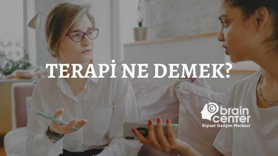 terapi ne demek